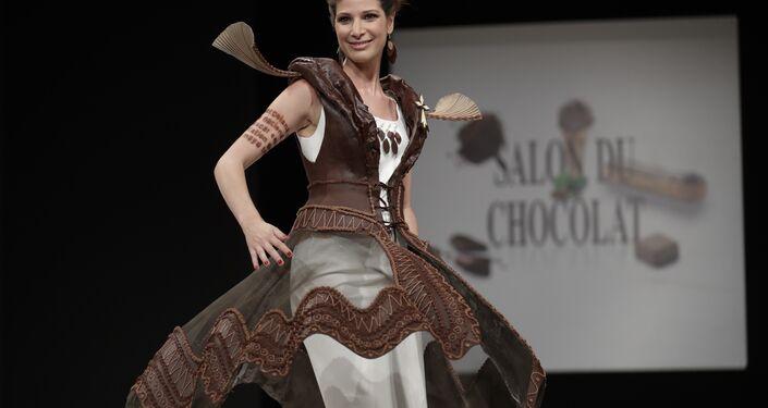 أزياء من الشوكولا