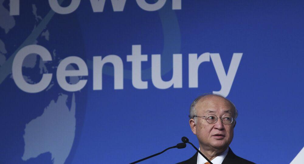 يوكيا أمانو رئيس الوكالة الدولية للطاقة الذرية