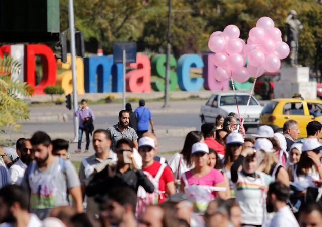فعالية في العاصمة السورية دمشق