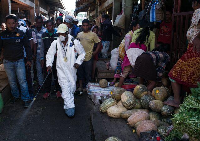 الطاعون في مدغشقر