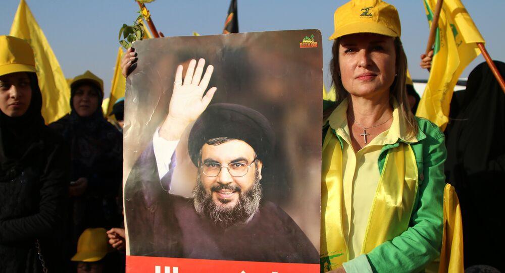 """بومبیو یؤکد أن """"حزب الله"""" اللبنانی یؤثر علی الوضع فی فنزویلا ..."""