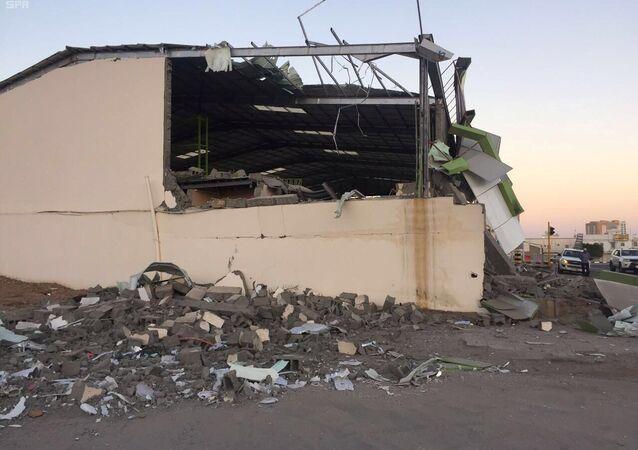 قصف حوثي على نجران