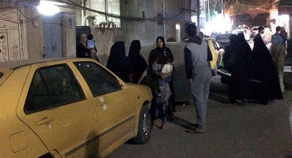 زلزال في بغداد، العراق 12 نوفمبر/ تشرين الثاني 2017