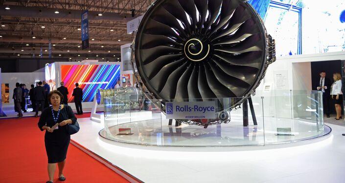 معرض دبي الجوي-الفضائي الدولي لعام 2017 (Dubai Airshow 2017) -(شركة Rolls-Royce )