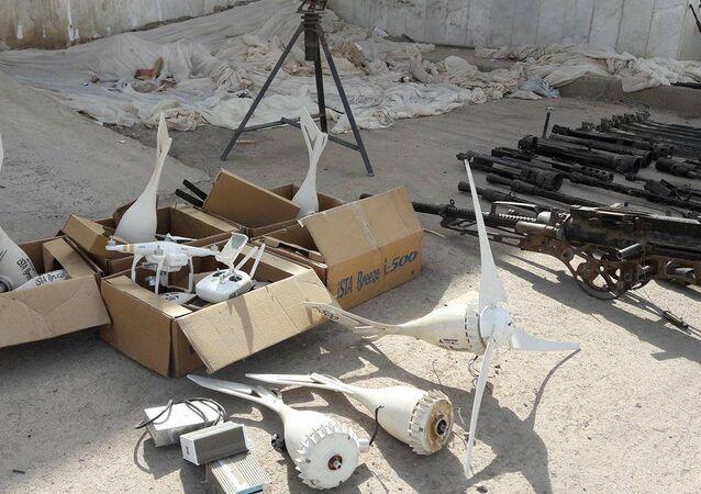الدلائل والقرائن من أسلحة ووثائق تثبت تورط دول كالولايات المتحدة في الإرهاب