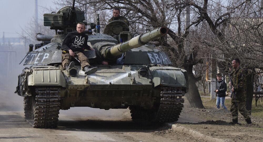 دبابة أوكرانية