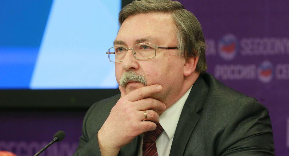مدير قسم عدم الانتشار والحد من التسلح في الخارجية الروسية ميخائيل أوليانوف