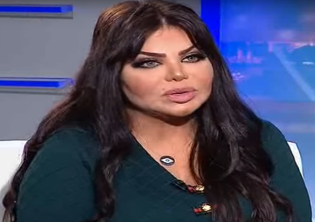 هكذا أطلت مها محمد في لقائها مع قناة الراي الكويتية