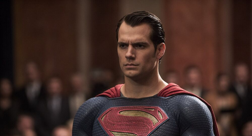 هنري كافيل في لقطة من فيلم Batman v Superman: Dawn of Justice