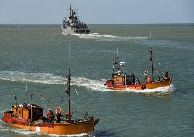 البحث عن الغواصة الأرجنتينية
