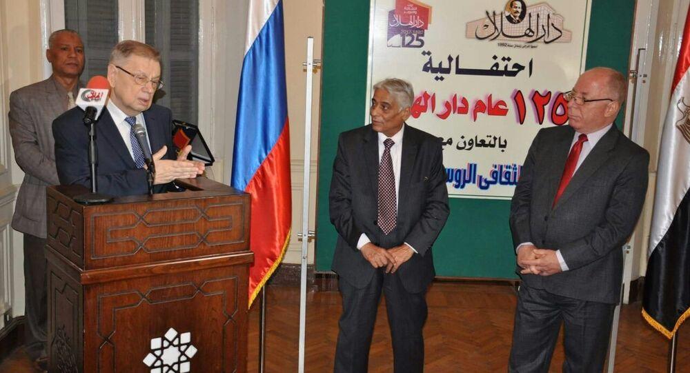 السفير الروسي في القاهرة سيرجي كيربيتشينكو