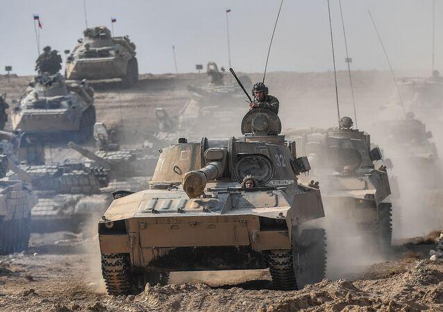 المناورات العسكرية المشتركة بين روسيا وطاجكستان