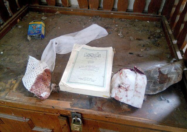 هجوم إرهابي على مسجد شمال سيناء