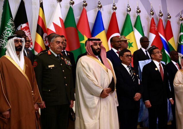 بن سلمان في مؤتمر التحالف الإسلامي العسكري