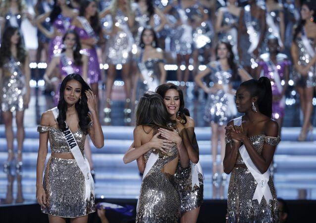 مسابقة ملكة جمال الكون لعام 2017 - المشاركات الأربعة اللاتي وصلن لنهائي المسابقة لاس فيغاس، 26 نوفمبر/ تشرين الثاني 2017