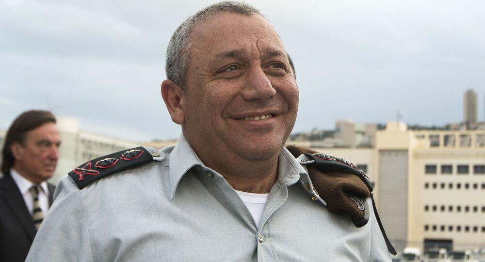 رئيس الأركان الإسرائيلي غازي إيزنكوت
