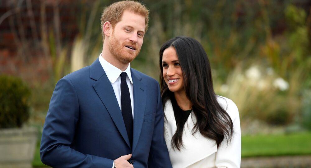 الأمير هاري يعلن خطبته على الممثلة ميغان ماركل، لندن، بريطانيا 27 نوفمبر/ تشرين الثاني 2017