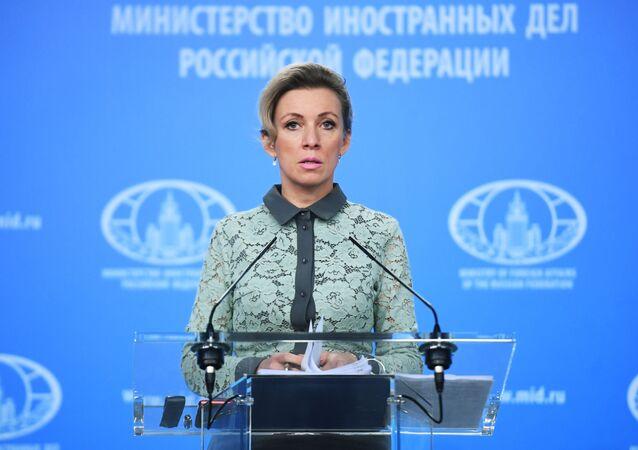 المتحدث الرسمي باسم الوزارة الخارجية الروسية ماريا زاخاروفا