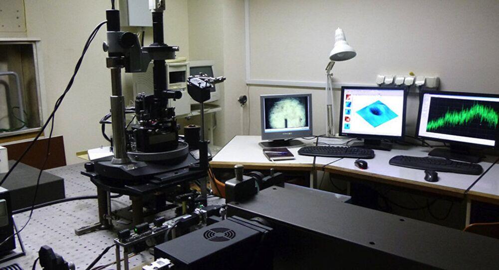 . المظهر العام للجهاز في ظروف مختبر