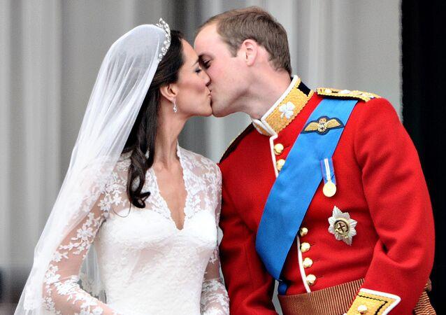 الأمير ويليام ودوقة كامبريدج كيت