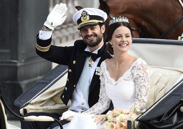 الأمير السويدي كارل فيليب ودوقة فيرملاند صوفيا