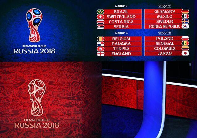 قرعة كأس العالم 2018 في روسيا