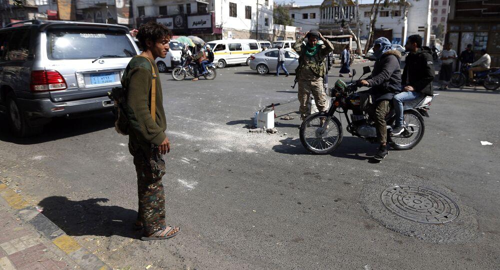 اليمن أفراد جماعة أنصار الله