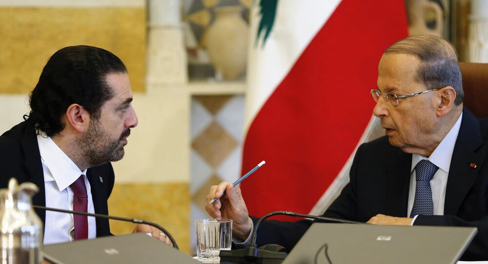 عون والحريري في اجتماع بعبدا