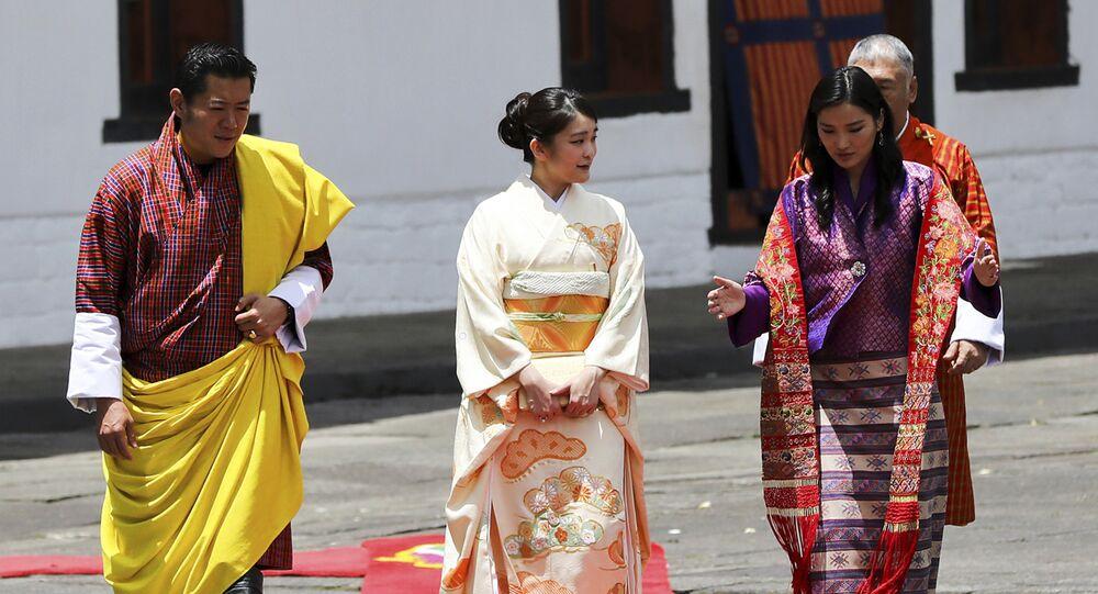 الملكة جيتسون بيما، زوجة الملك جيمغه خيشار نمجيل وأنغشاك، ملك بوتان