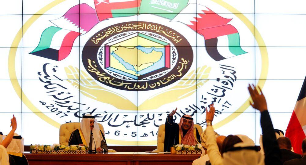 القمة الخليجية - وزير الخارجية الكويتي صباح الخالد الحمد صباح، الكويت 5 ديسمبر/ كانون الأول 2017