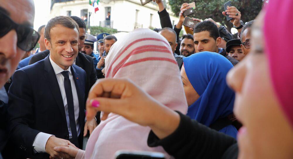 ماكرون في الجزائر