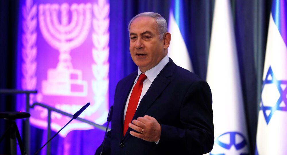 رئيس الوزراء الإسرائيلي بنيامين نتنياهو في القدس، 7 ديسمبر/ كانون الأول 2017