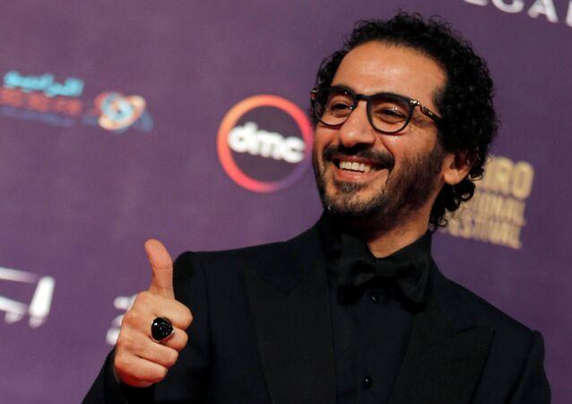 الممثل المصري أحمد حلمي، خلال مهرجان القاهرة السينمائي الـ 39، مصر 21 نوفمبر/ كانون الأول 2017