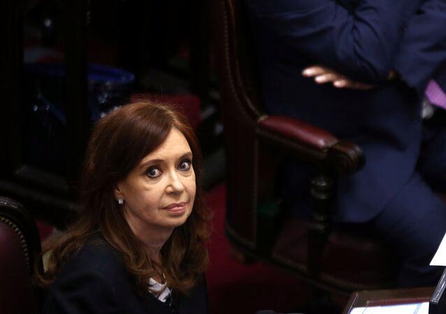 رئيسة الأرجنتين السابقة