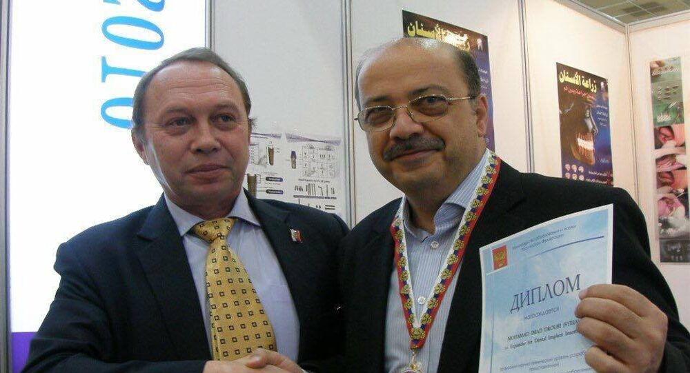 الطبيب السوري المخترع محمد عماد الدروبي