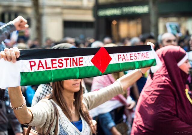 مظاهرة داعمة لفلسطين في فرنسا تبدأ ظهر اليوم