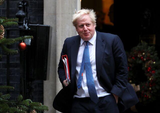 بوريس جونسون وزير الخارجية البريطاني