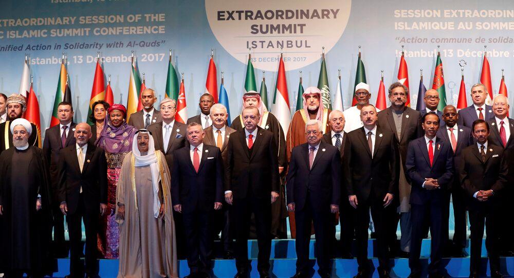 قمة التعاون الإسلامي في اسطنبول في 13 دسمبر/كانون الأول