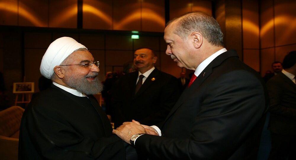 حسن روحاني في تركيا