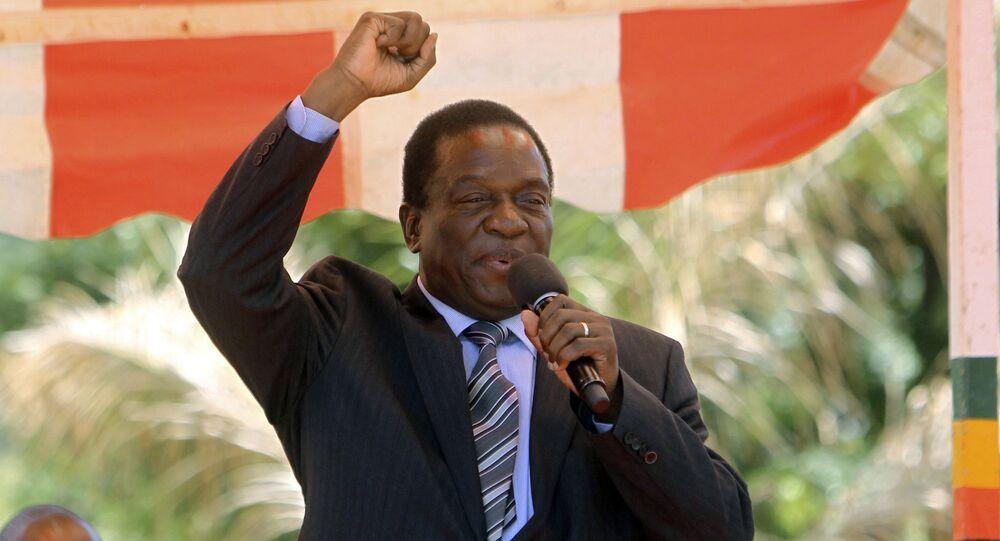 رئيس زيمبابوي الجديد إيمرسون منانغاغوا