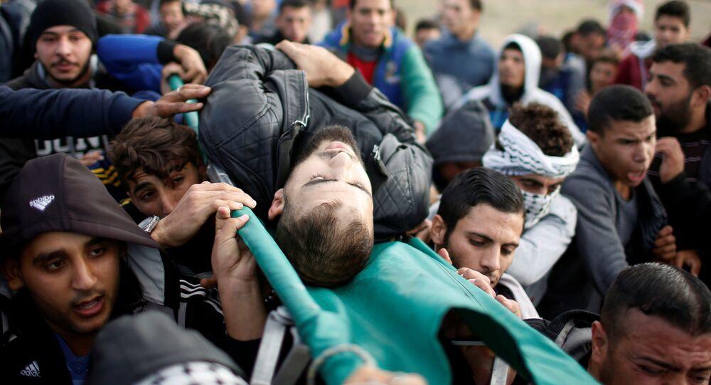 إصابات بين الفلسطينيين في غزة
