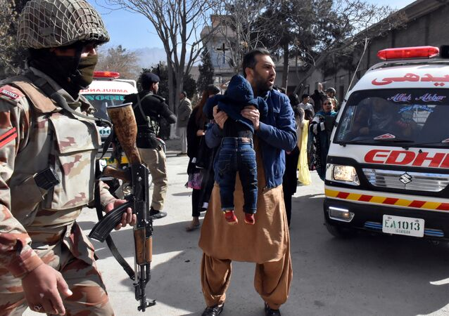 قتلى وجرحى في هجوم على كنيسة بمدينة كويته غربي باكستان