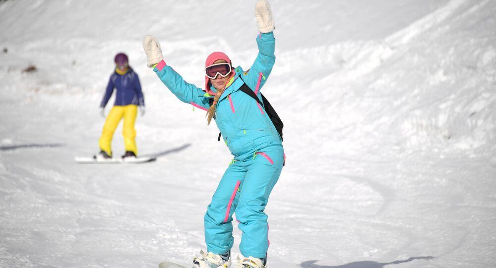 التزلج على الثلج في روسيا