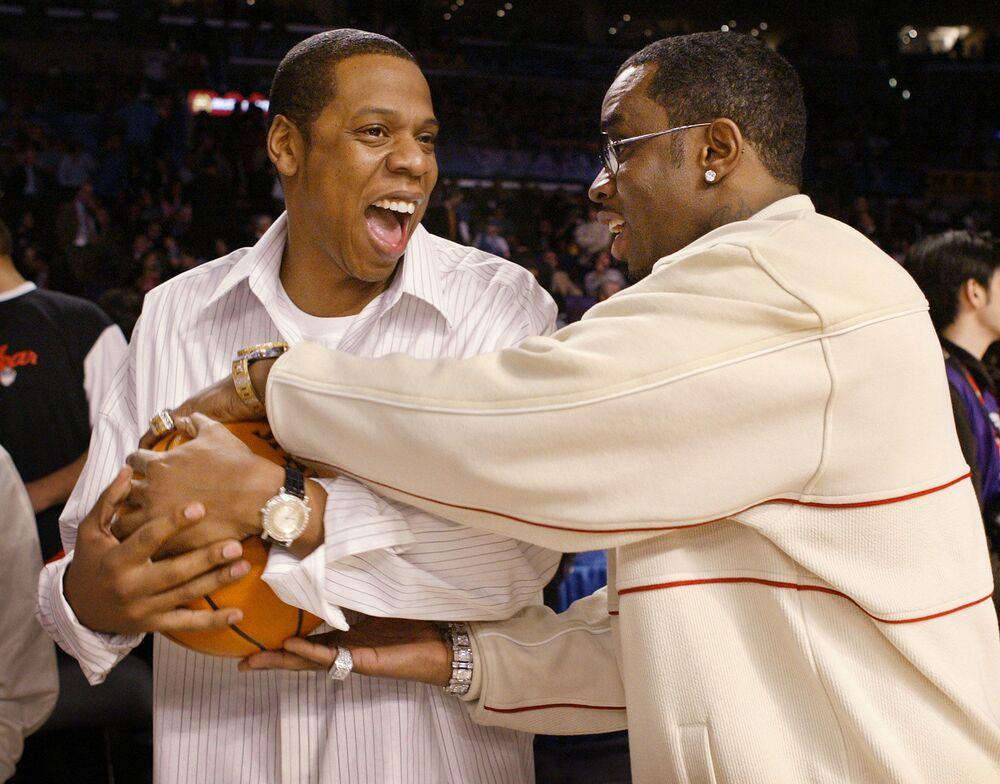 مغنيا الراب Jay-Z و P. Diddy