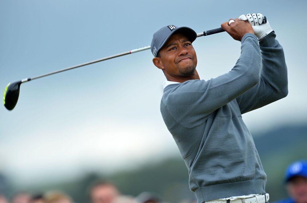 لاعب الغولف الأمريكي تايغر وودز