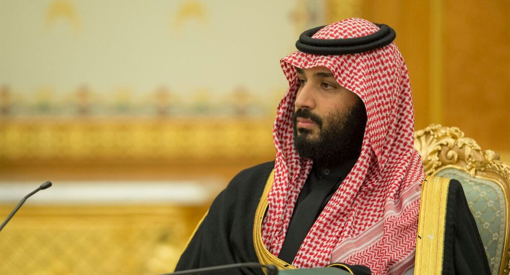 محمد بن سلمان أثناء إقرار موازنة 2018