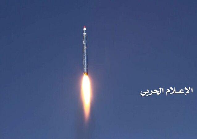 الصاروخ الباليستي الذي استهدف الرياض