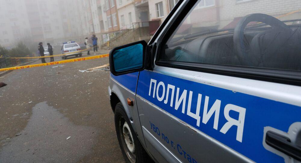 الشرطة الروسية في ستافروبل، روسيا