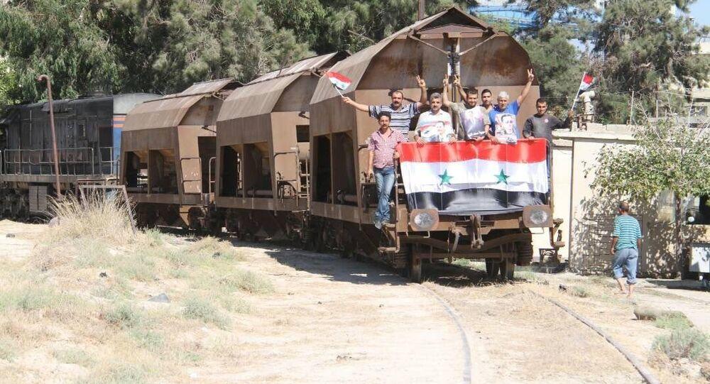 التطورات التي شهدها قطاع النقل في سوريا خلال عام 2017