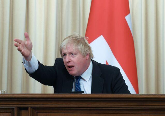 بوريس جونسون، وزير الخارجية البريطاني